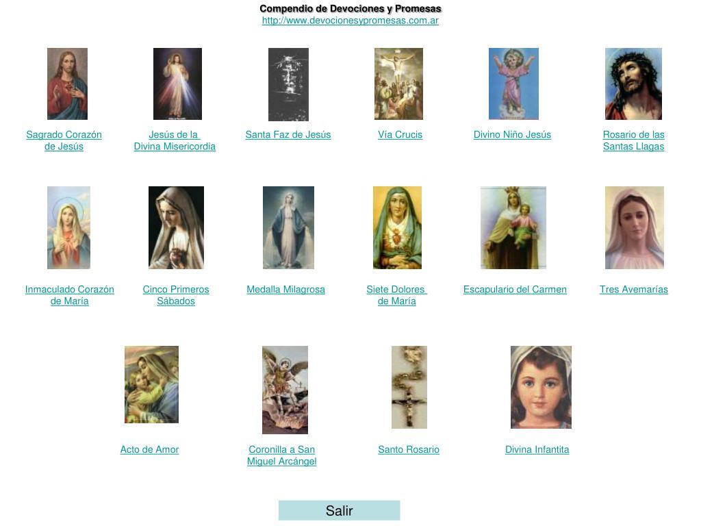 compendio de devociones y promesas http www devocionesypromesas com ar l.