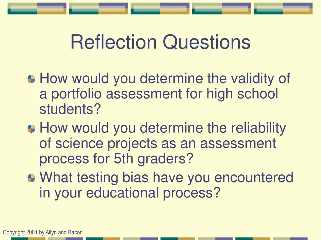 reflection questions education 3