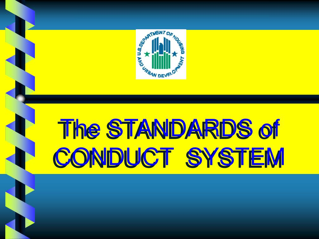 the standards of conduct system l.