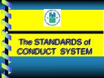 the standards of conduct system2