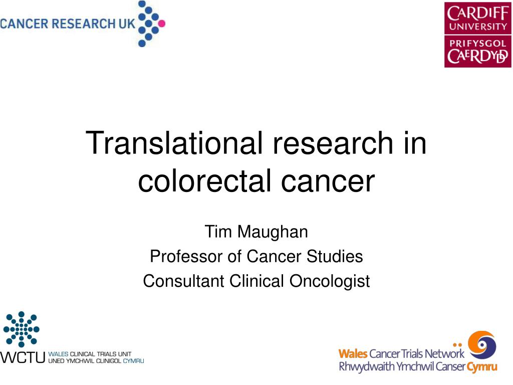 translational research in colorectal cancer l.