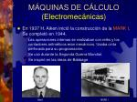 m quinas de c lculo electromec nicas10