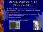 m quinas de c lculo electromec nicas9