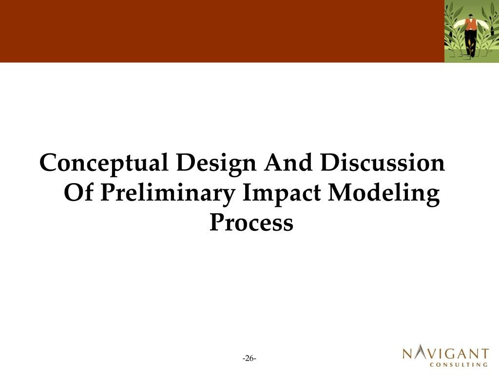 Conceptual Design And Discussion Of Preliminary Impact Modeling Process