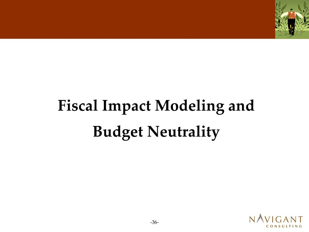 Fiscal Impact Modeling and