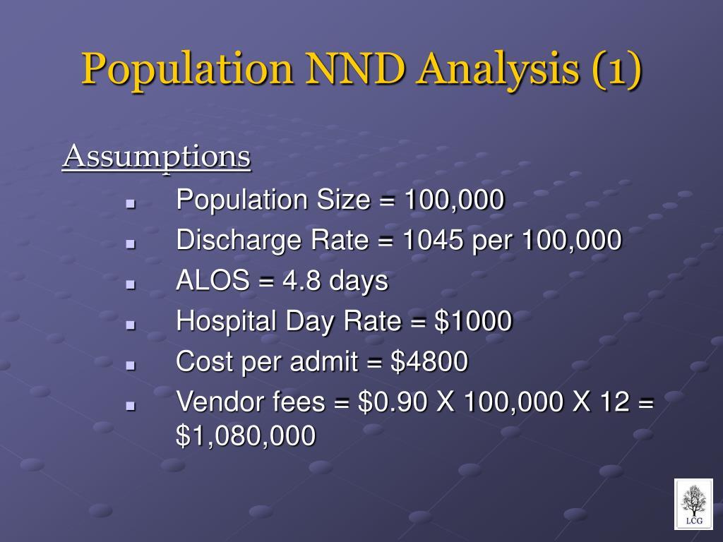 Population NND Analysis (1)