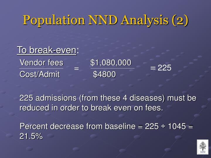 Population nnd analysis 2