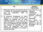 nic 39 instrumentos financieros reconocimiento y medici n67
