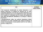 nic 39 instrumentos financieros reconocimiento y medici n68