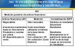 nic 39 instrumentos financieros reconocimiento y medici n69