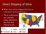 direct shipping of wine