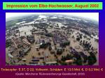 impression vom elbe hochwasser august 2002