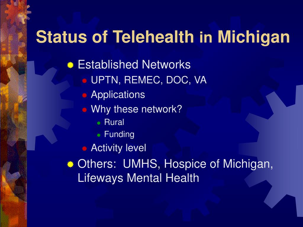 Status of Telehealth