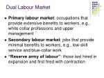 dual labour market