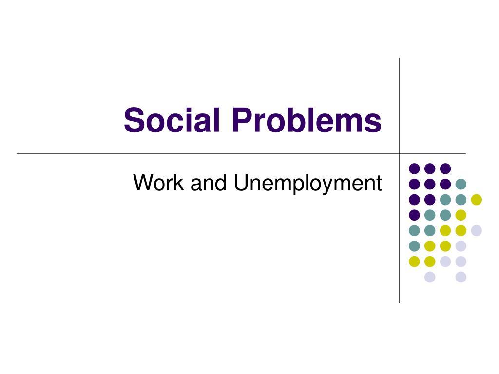 social problems l.