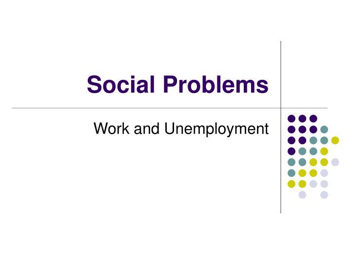 social problems n.