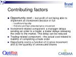 contributing factors7