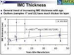 imc thickness