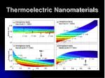 thermoelectric nanomaterials34
