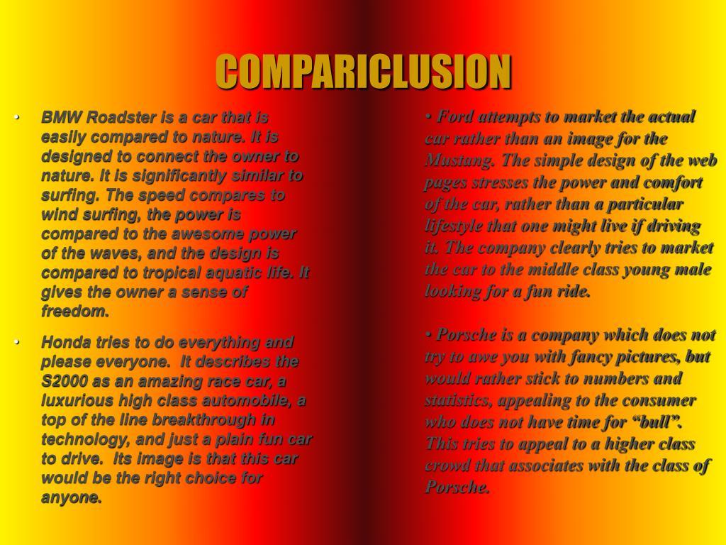 COMPARICLUSION
