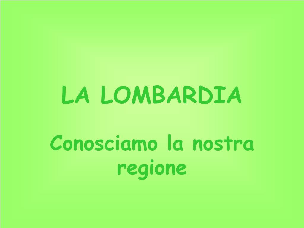 la lombardia l.