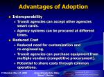 advantages of adoption