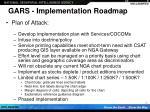 gars implementation roadmap12