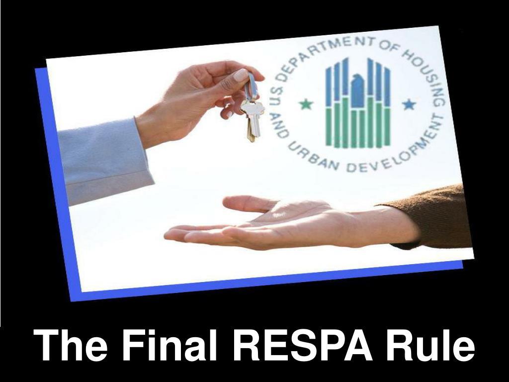 the final respa rule l.