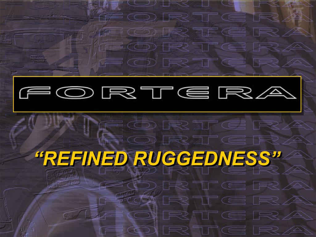 refined ruggedness l.
