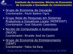 instituto de economia n cleo de economia da inova o e sociedade do conhecimento