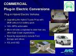 commercial plug in electric conversions