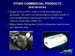 other commercial products and services