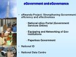 egovernment and egovernance