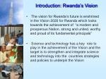 introduction rwanda s vision