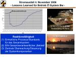 stromausfall 4 november 2006 lessons learned f r betrieb it system bw