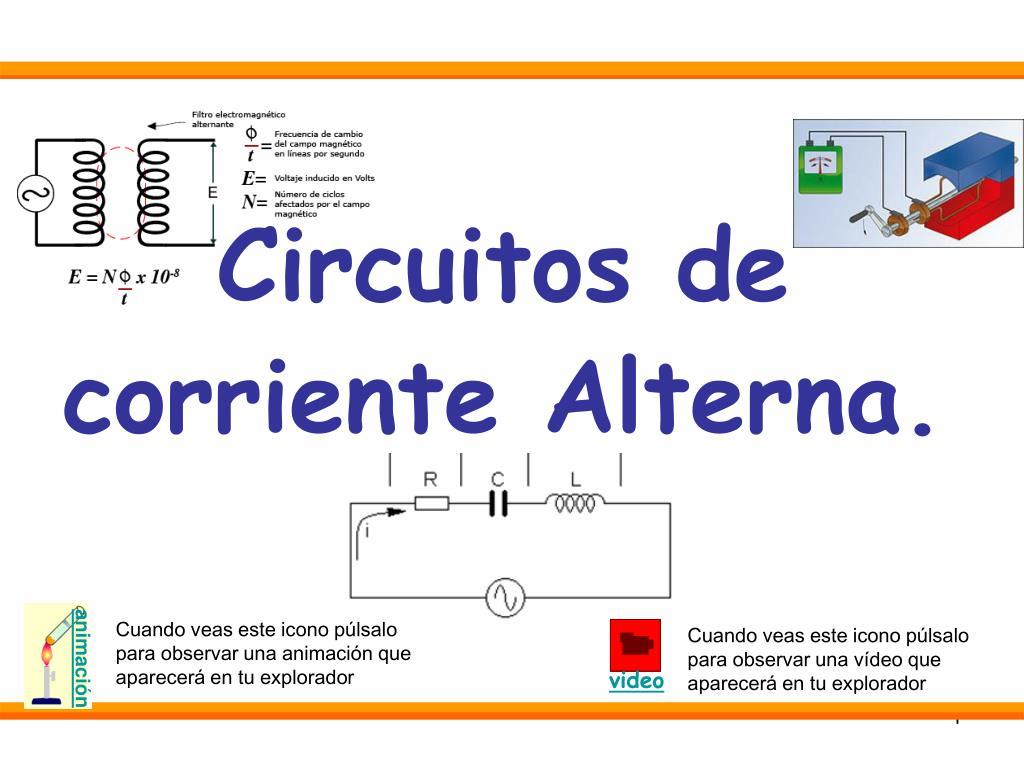 circuitos de corriente alterna l.