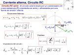 corriente alterna circuito rc25