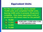 equivalent units36