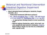 botanical and nutritional intervention intestinal digestive impairment65