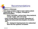 recommendations22