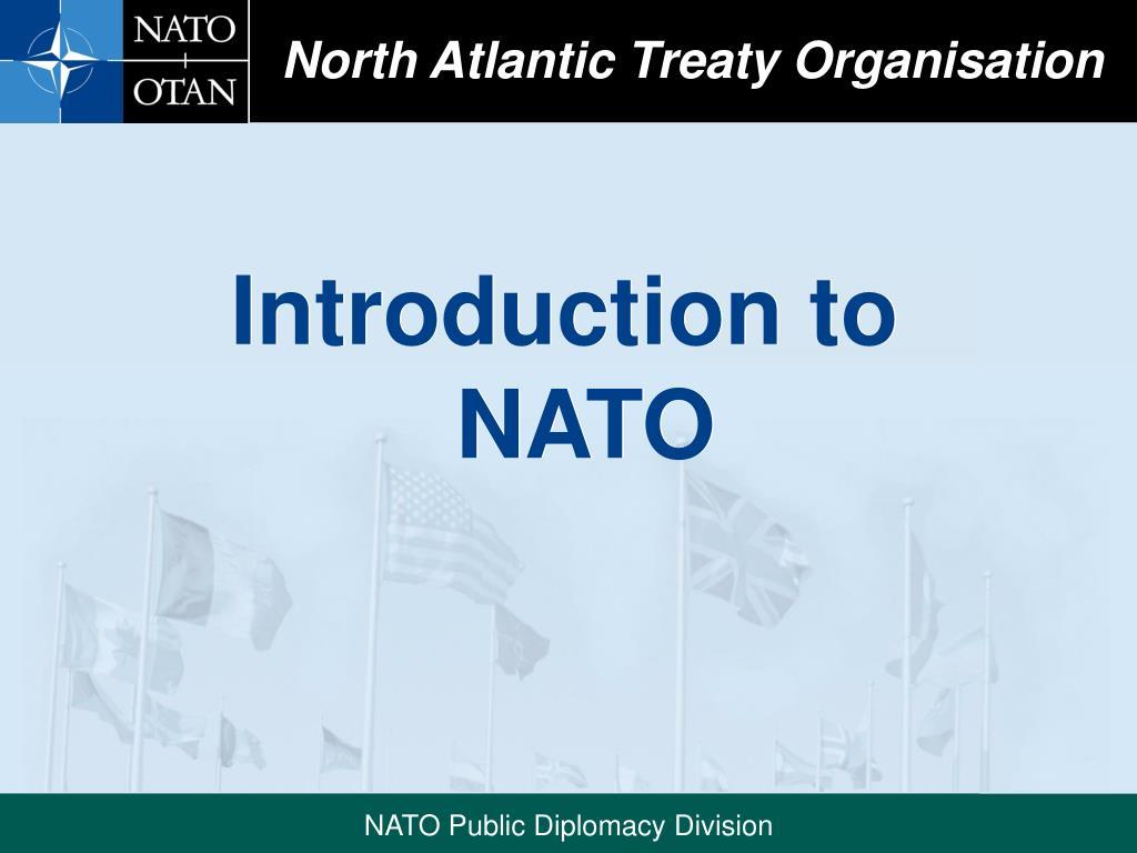 north atlantic treaty organisation l.