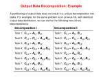 output data decomposition example30