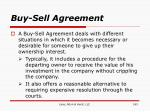 buy sell agreement163