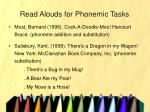 read alouds for phonemic tasks31