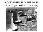 accidente de three mile island 28 de marzo de 1979