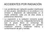 accidentes por radiaci n13