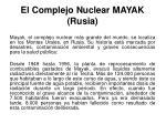 el complejo nuclear mayak rusia19