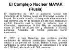 el complejo nuclear mayak rusia20