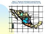 mapa 7 regiones hidrol gicas potencialmente impactadas en base a ocurrencia de sitios con hg
