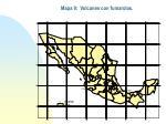 mapa 9 volcanes con fumarolas